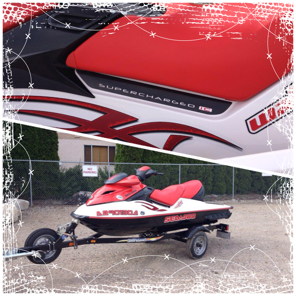2007 SEADOO 215 SUPERCHARGED WAKE EDITION, with trailer , low low hours, excellent condition throughout, and well maintained, excellent family fun and value!!!